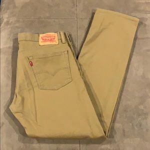 Men's Levi's 513 Athletic Jeans 32 32x32 Stretch
